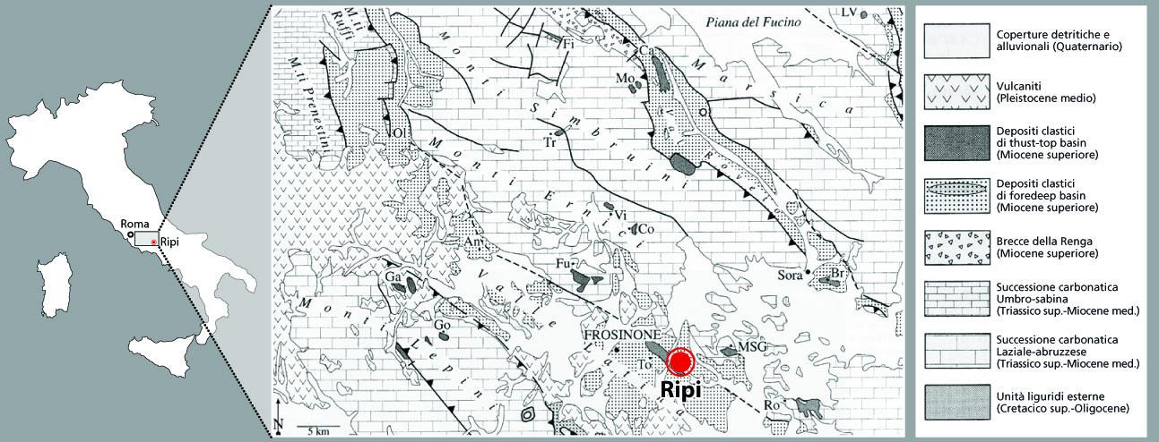 Storia del petrolio in Italia e del petrolio a Ripi